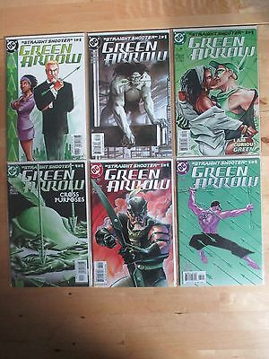 Green Arrow (2001) # 26, 27, 28, 29, 30, 31 'straight Shooter' By Judd Winick