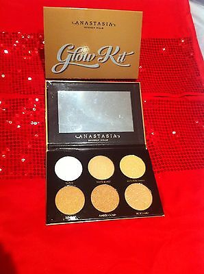 New Anastasia Beverly Hills Ultimate That Glow Kit Palette *authentic Xmas Gift*