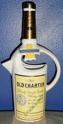 Vintage 1971 Old Charter Kentucky Straight Bourbon Whiskey Pitcher