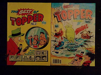 2 Off The Best Of The Topper Comic No 2 And 14 From 1988 And 1991