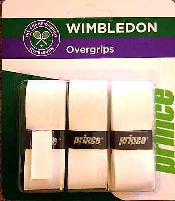 ABSOLUTE BARGAIN ! PRINCE Wimbledon Overgrips - 10 x Triple Pack (30 Grips)