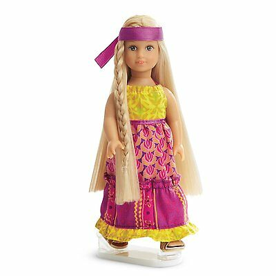 American Girl JULIE MINI DOLL 2016 SPECIAL EDITION BEFOREVER 6.5 Inch Tall NEW