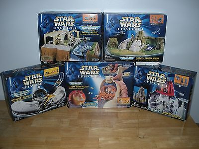Micro Machines Star Wars Lot Episode 1 Play Set Lot Please Read