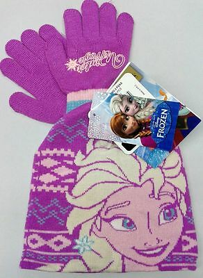 Set cuffia e guanti bambina FROZEN DISNEY winter set SALDI SCONTO 30%