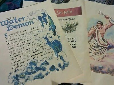 Set #3 Printed Charmed Pages for Book of Shadows 108 pages (3 of 4)
