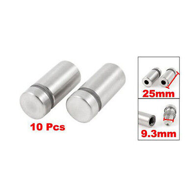 10X Stainless Stand off Bolts Mount Standoffs Sign Advertisement Fixings Gift SD