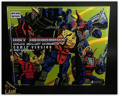 Transformers G1 WST Dinobots Comic Version Exclusive 300 Limited MIB COMPLETE
