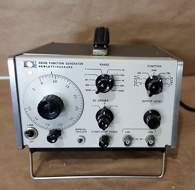 HP 3310B .0005 to 5.0 MHz Function Generator
