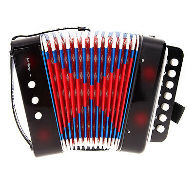 7 Keys 2 Bass Accordion Kid's children's Musical Instruments Christmas Gift Toy