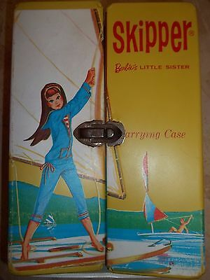 Vintage Skipper Doll Carrying Case-Trunk-Sailing Scene-Tlc-Issues-Look & Read