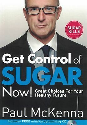 Get Control of Sugar Now! by Paul McKenna NEW