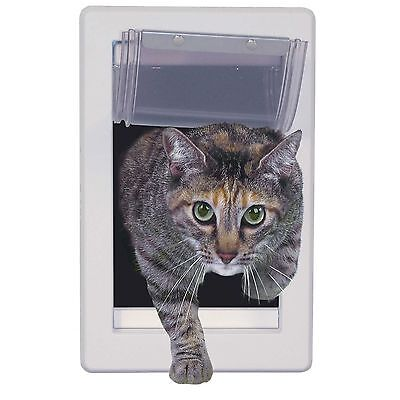 "Perfect Pet Soft Flap Cat Door Telescoping Frame, Cats up to 12 lb, 5"" by 7"""