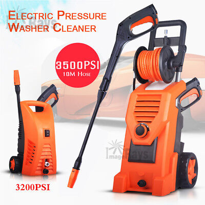 Electric High Pressure Water Cleaner Washer Gun Hose Pump Cleaning Gurney AU New