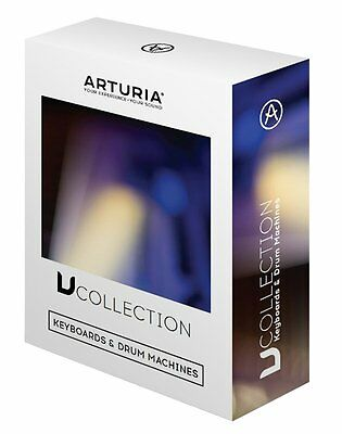 Arturia V-Collection 4 Virtual Instrument Software Bundle NEW