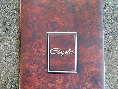 Chrysler By Chrysler 1972 Ch Sales Brochure. 100% Guarantee.