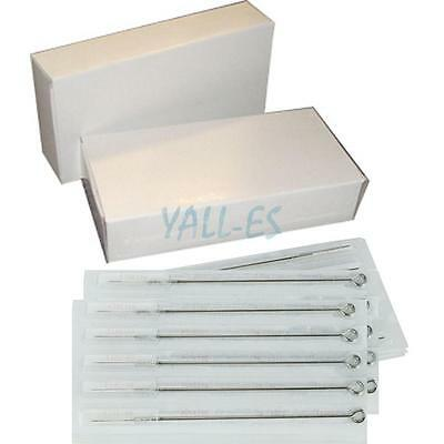 New 50Pcs Sterile Disposable Round Liner Tattoo Needles 3 5 7 9 RL Mixed Size