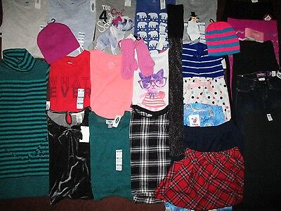 NEW!! Girls Size 6 Fall Winter School Lot Clothes & Outfits Name Brands NWT'S