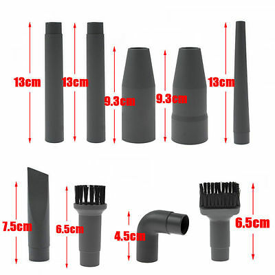 32mm 35mm Vacuum Cleaner Attachment Accessories Tool Kit Nozzle Head Brush Rods