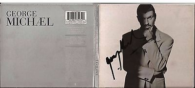 George Michael, Cd Maxi Single, Fast Love, Hand Signed Autographed