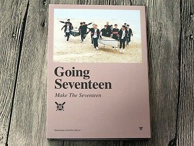 Seventeen autographed 2016 Going Seventeen make the seventeen Album CD korean
