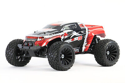 Redcat Racing Terremoto V2 1:10 Brushless RTR RC 4WD RC Monster Truck Red