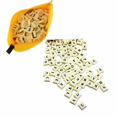 144 Toy Puzzle Bananagrams Game Educational Spelling Words Fun Travel Play Board