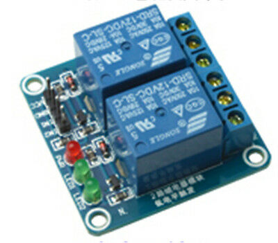 12V 2 Channel Low Level Relay Module OPTO-Isolated Relay Module Expansion Board