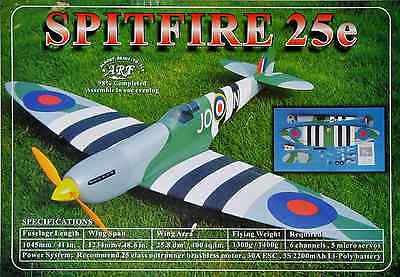 """HAIKONG A041 SPITFIRE 25E 1234mm/48.6"""" 1045mm length ARF RC Airplane in stock"""