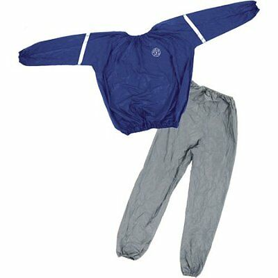 Sauna Sweat Suit Golds Gym Heavy Duty Weight Loss Anti Rip Fitness Exercise New