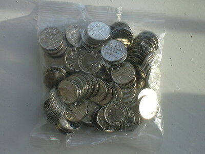 MINT CONDITION 2014 SHIELD OF ROYAL ARMS UNCIRCULATED BAG OF 100X 5p COINS YEAR