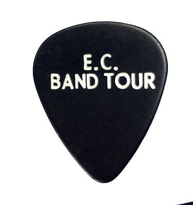 Eric Clapton Guitar Pick. 2008 Tour Pick. E.C Band Tour.