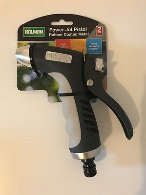 Holman Power Jet Pistol - Rubber Coated Metal