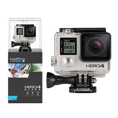 GoPro HERO 4 Black Adventure Edition ActionCam Filmati Ultra HD 4K 12Mpx Wi-Fi
