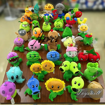 Plants VS. Zombies Figure Plush Game Soft Doll Stuffed Doll Toy Zombie Baby Gift