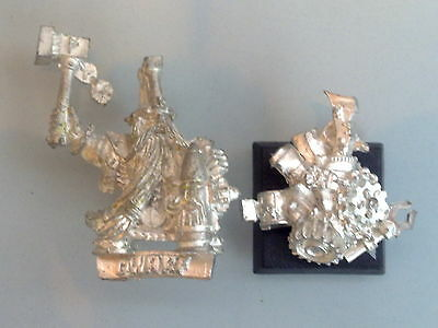 Dwarfs - Master Engineer with Hand Weapon Metal DW125