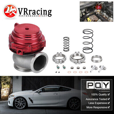 44MM V-BAND EXTERNAL WASTEGATE RED TIAL STYLE MV-R Water/Air Cooled