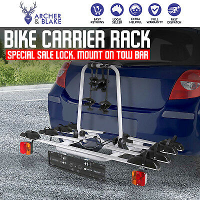 Towbar Towball Hitch Ball Mount 4 Bicycle Bike Carrier Rack for Car Giantz