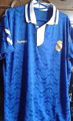 Real Madrid Hummel XL camiseta futbol football shirt