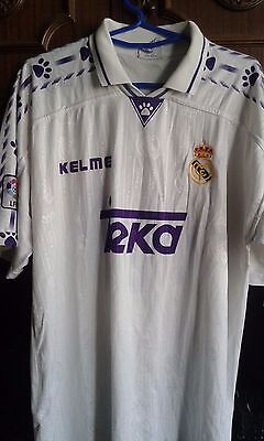 Real Madrid MATCH WORN SEEDORF  camiseta futbol football shirt