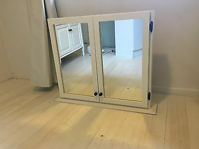 French Provincial Mirror Cabinet