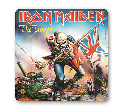 Heavy Metal - Iron Maiden - The Trooper Coaster - Untersetzer - Bierdeckel