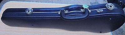 Violin Case 3/4 size by J Winter of Germany - mouilded ABS - quality fittings