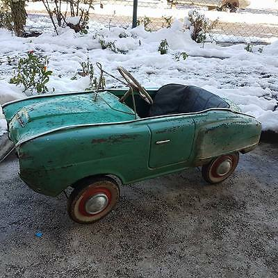 antique VERY RARE Vintage SOVIET USSR Metal Pedal CAR MOSKVICH AZLK 19-69