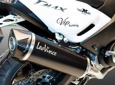Full Exhaust System Leovince Nero Stainless Steel 14013 Yamaha T-Max T Max 500