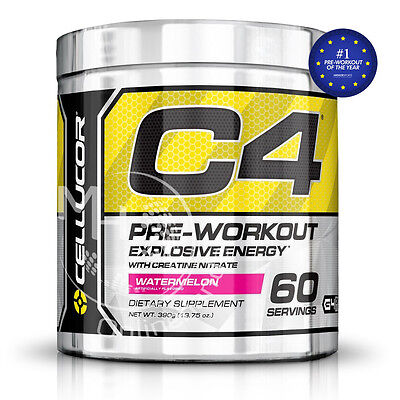 Cellucor C4 Pre-Workout (102,54€/Kg) 390g Dose Watermelon !Ab 2 Dosen +BONUS