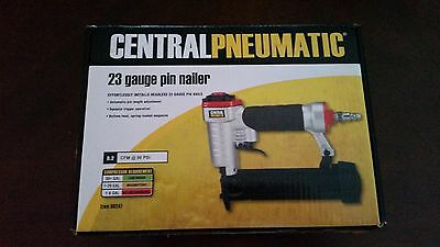 "CENTRAL PNEUMATIC Pin Nailer 23 Gauge 1/2"" - 7/8"" Headless Finish Air Tool"