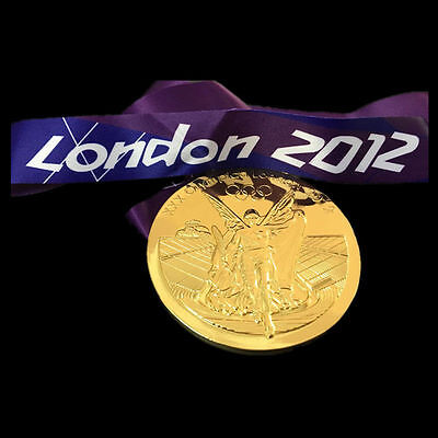 London 2012 Olympic Gold Medal - Replica - Brand New - UK Seller Rio 2016