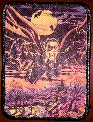 Dracula / Vampire Full Color PATCH - vintage look HORROR - classic Monster