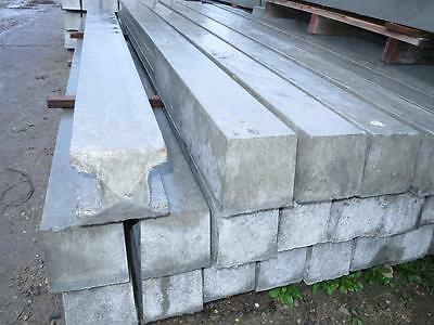 1 x reinforced concrete fence fencing heavy duty post post posts