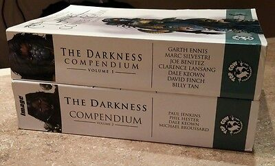 The Darkness Compendium volume 1 & 2 TPB LOT RARE OUT OF PRINT, Witchblade comic